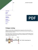Twi Fatigure Testing