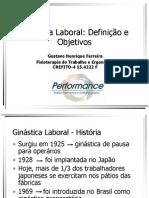 Ginástica Laboral - Gustavo