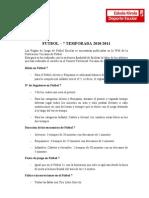 Resumen normas Fútbol 7