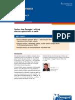 Denagard Ileitis Efficacy Overview