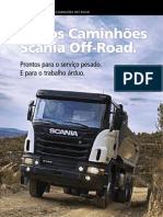 Caminhão Scania Off-Road