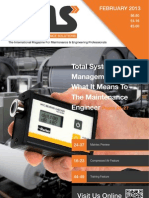 Engineering Maintenance Solutions - February 2013