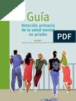 Atención primaria de la salud mental  en prisión