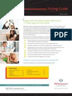 2012 Domestic Pricing Guide