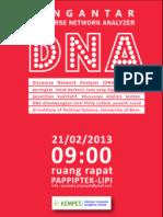 Meetup Kempes - Pengantar Discourse Network Analyzer (DNA)