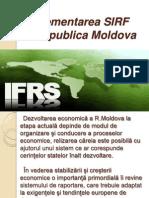 Rolul SIRF in Procesul de Armonizare a Sistemului Contabil Din Republica Moldova