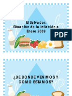 Inflacion Enero 2009 El Salvador