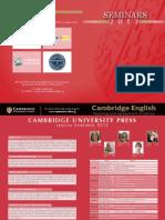 Cambridge Events 2013