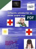 Influenta Schimbarilor de Vreme Asupra Organismului (1)