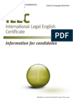 Ilec Info for Candidates