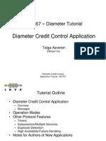 Diameter Credit Control