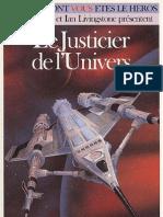 Defis Fantastiques 33 - Le Justicier de l'Univers