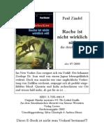 Zindel, Paul - die detektive - 04 - Rache ist nicht wirklich süß