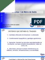 Proyecto Metro Quito