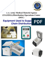 Equipment Used in Support of Cold Chain Distribution1