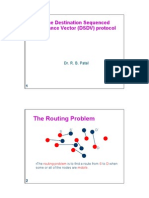Cse 302 Dsdv Protocol