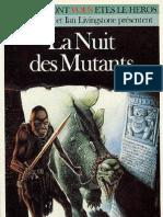 Defis Fantastiques 36 - La Nuit Des Mutants
