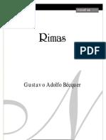 Gustavo Adolfo Becquer - Rimas