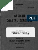 German Coastal Defenses