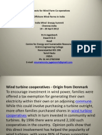 Prospects for Wind Farm Co-Operatives