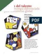 Jiménez, Alfonso, Hillier-Fry, Camila, Díaz, Javier; Gestión del Talento