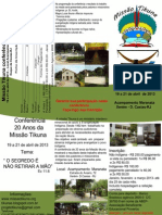 Conferência 20 anos da Missão Tikuna