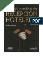 Luis Di Muro - RECEPCION HOTELERA, Manual Practico