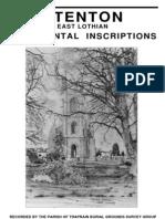 Stenton Churchyard Survey