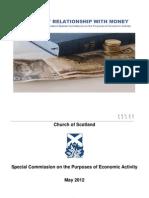 Economics Commission  Report Church of Scotland