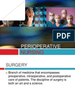 Perioperative Nursing (PreOp)