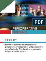 Perioperative Nursing (PreOp)