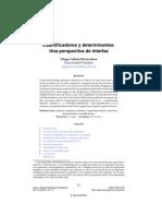 Cuantificadores y Determinantes
