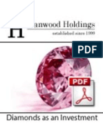 Coloured Diamonds as an Investment