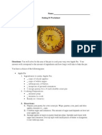 final artifact 3- baking pi