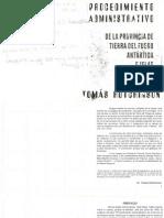 Ley Procedimiento Administrativo - Tomas Hutchinson
