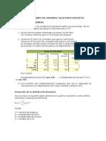 Aplicaciones Distribuciones de Probabilidad