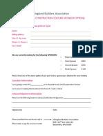VBA Sponsor Opportunities Form 2015
