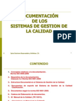 Documentación del SGC