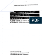 FIDC 1987 Conditions of Contract