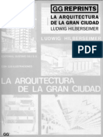 La Arquitectura de La Gran Ciudad Ludwig Hilberseimer