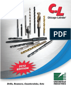 49729 Chicago-Latrobe Taper Length Drill HSS 29//64 Black Oxide