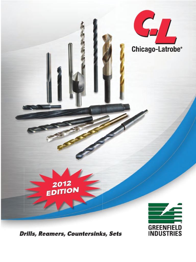 CHICAGO-LATROBE 46735 Jobber Bit,#65,Cobalt Steel