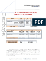 Analisis Economico Financiero Cervezas Alhambra- Cristina Moreno