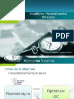Monitoreo Hemodinamico Avanzado