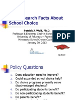 PWolf PP -The Research Facts About Charters and Vouchers MN 2013