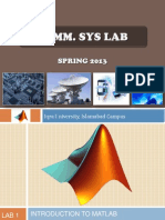 Lec1 Matlab Intro
