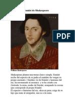 Estudio Del Hamlet de Shakespeare