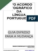 Regras Novo Acordo Ortográfico - versão 26-08