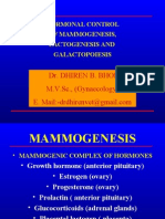 Hormonal Control of Mammogenesis Lactogenesis and Galactopoiesis-By:Dr.DHIREN BHOI