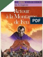 Defis Fantastiques 50 - Retour a La Montagne de Feu